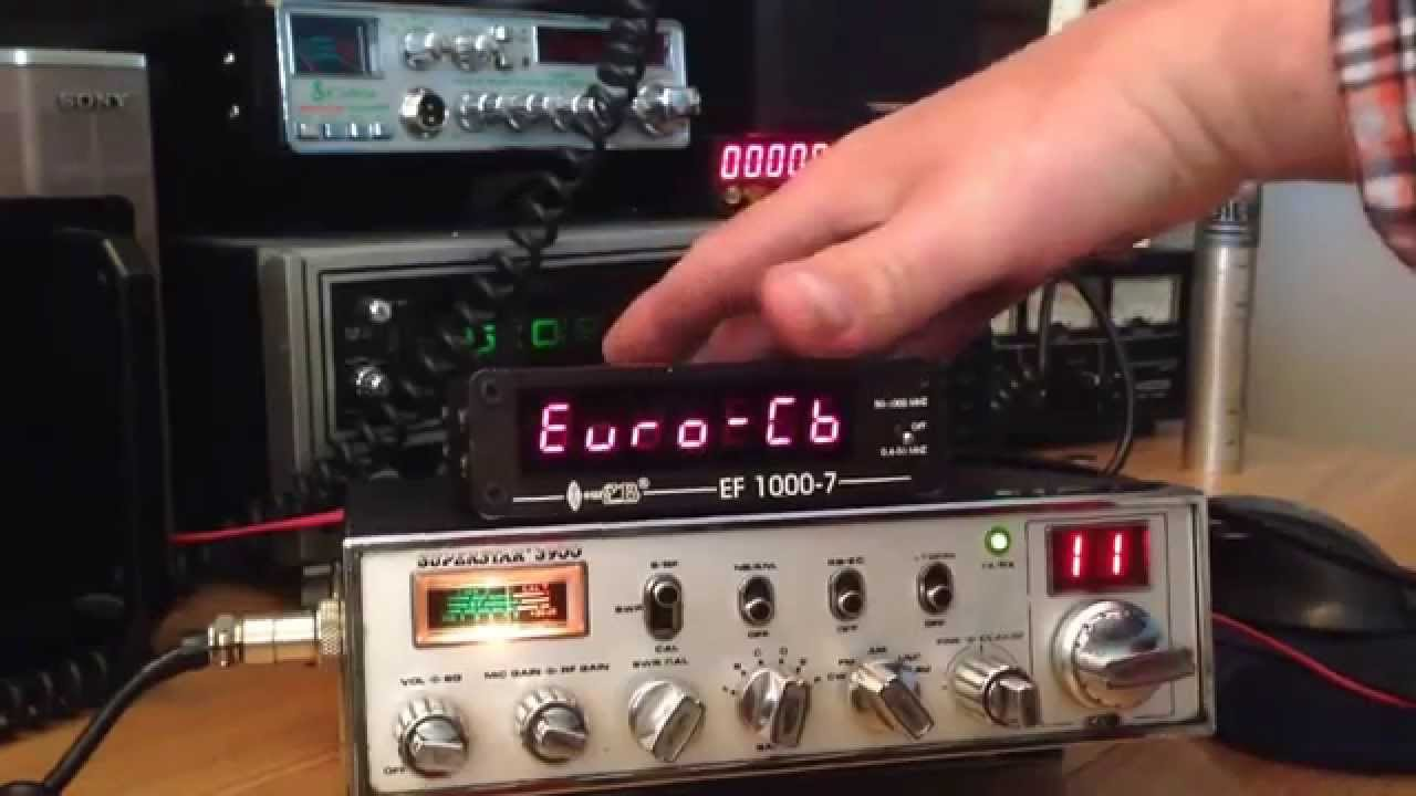 Cb Frequency Counter : Cb radio frequency counter youtube