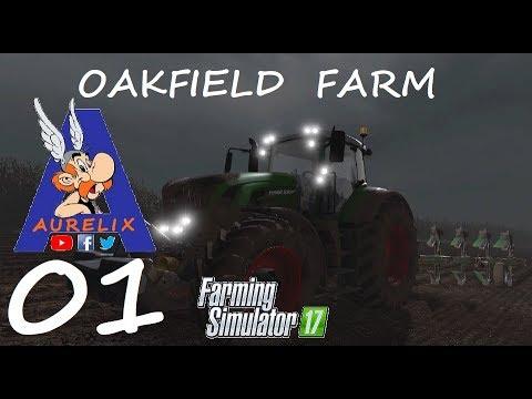 FS17 Season (PS4) Oakfield Farm #01: A big dairy Farm?