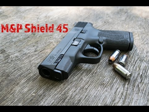 M&P 45 Shield (NTS)...45 Slug Style Concealed Carry!