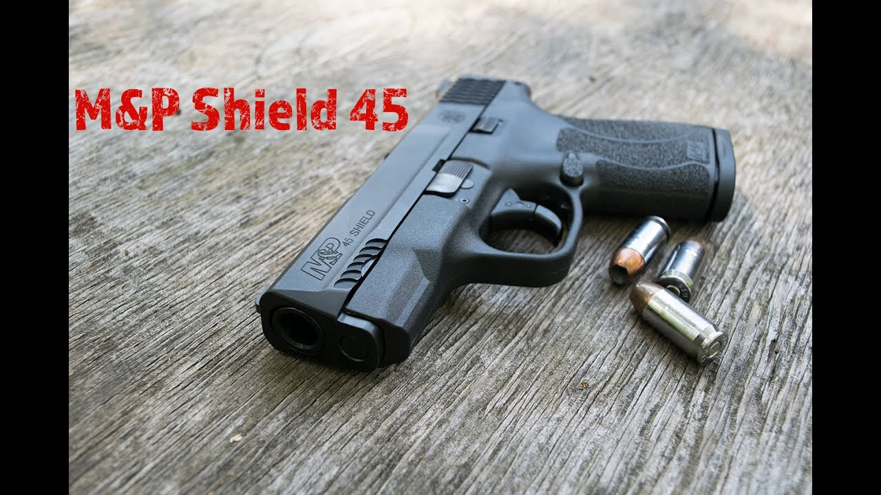 M&P 45 Shield (NTS)...45 Slug Style Concealed Carry! - YouTube
