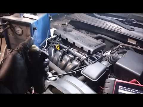 2009 Hyundai Sonata, EVAP System Small Leak Troubleshooting