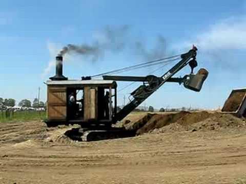 Antique Erie Steam Shovel