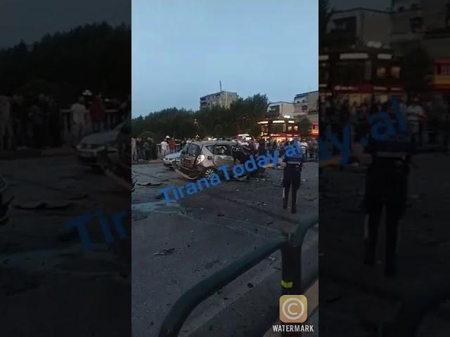 Pamjet e para nga shpërthimi i sotëm në kryeqytet (15.09.2020)