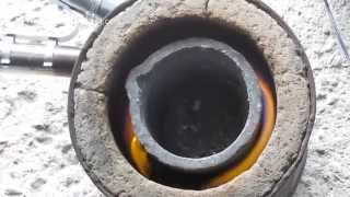 Metal Casting at Home Part 44, Propane Furnace Burner Improvements.
