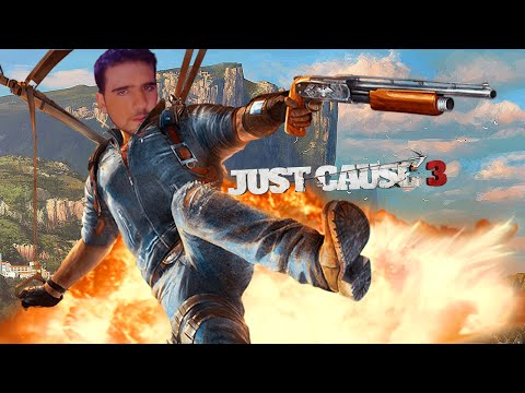 El Lider De La Revolucion !!! - Random Moments Just Cause 3