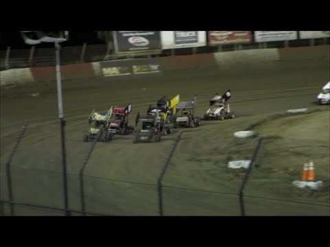 East Bay Raceway Park | Mini Sprints | Feature Race  |  4-23-16