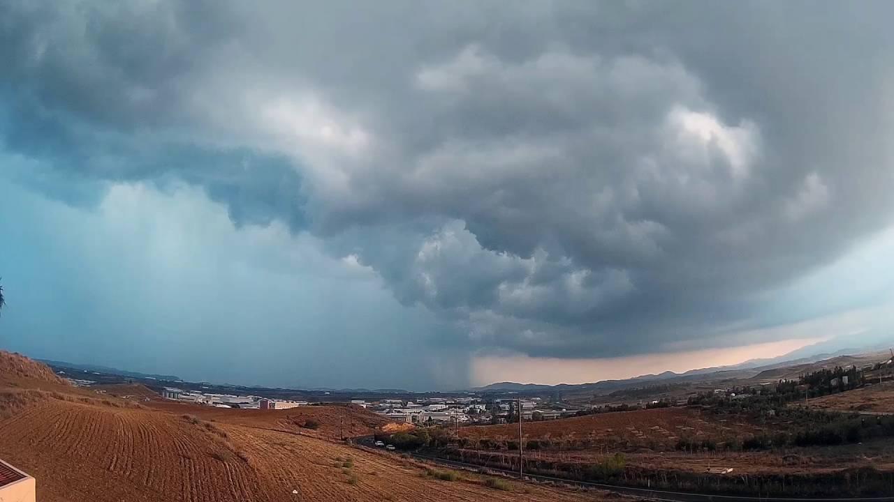 Nicosia 5.9.2016 Time-lapse ( FB: Cyprus WeatherOnline )