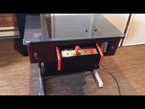 restauration termin e d 39 une arcade cocktail table multi jeux jamma youtube. Black Bedroom Furniture Sets. Home Design Ideas