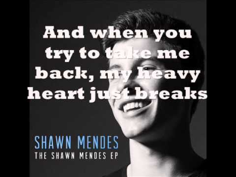 The Weight Karaoke-Shawn Mendes
