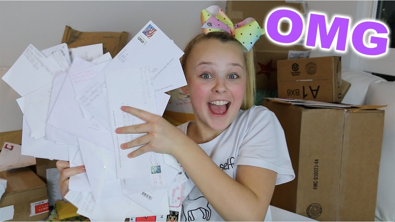 Opening My Fan Mail Youtube