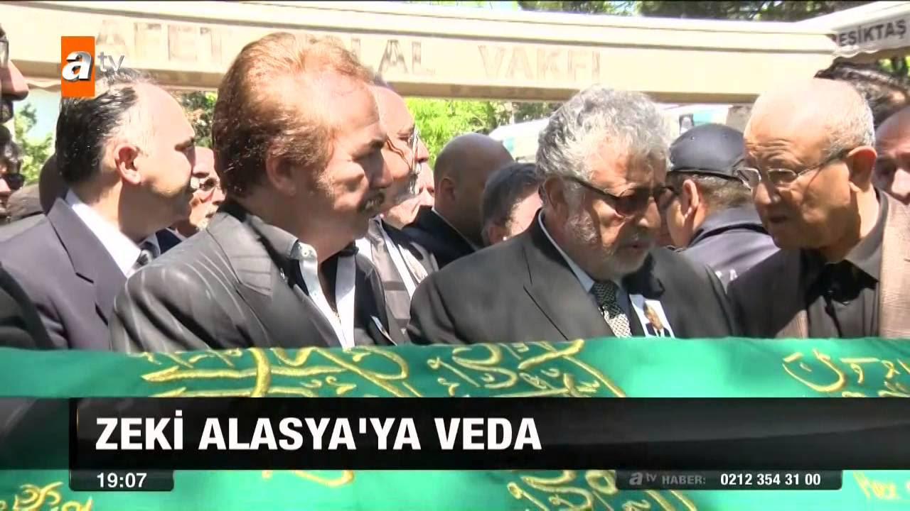 Zeki Alasya'ya veda - 10.05.2015 - atv
