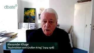 dbate.de-Interview: Alexander Kluge (dctp) über Krieg und Frieden