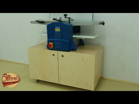 Mobile Shop Cabinet for my Jointer - Planer combination machine.