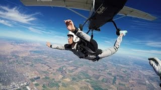 Learning Skydiving isn't easy!