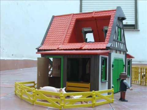 Secuestro en la granja playmobil 1 parte youtube for La granja de playmobil precio
