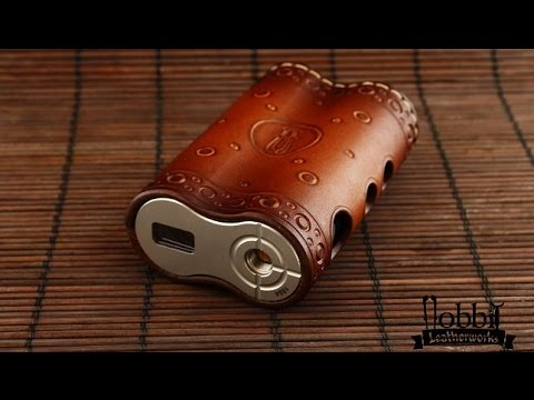 Making a Leather Case For Dicodes Dani Box Mod.