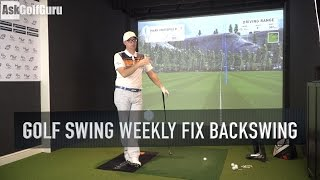 Golf Swing Weekly Fix Backswing