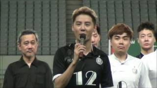 ジュンス(JYJ)「F.C.MEN presents MATCH for JUNSU in JAPAN」開催!