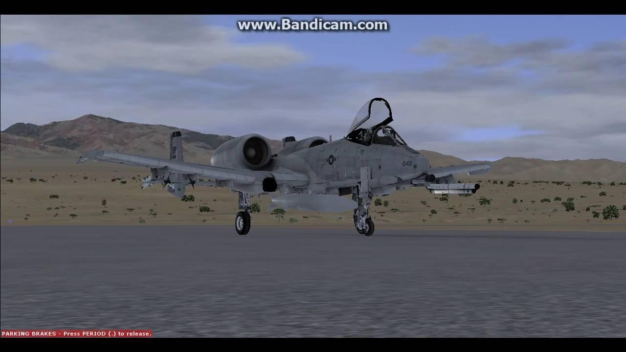 flight simulator x steam edition a 10 warthog low level flying in