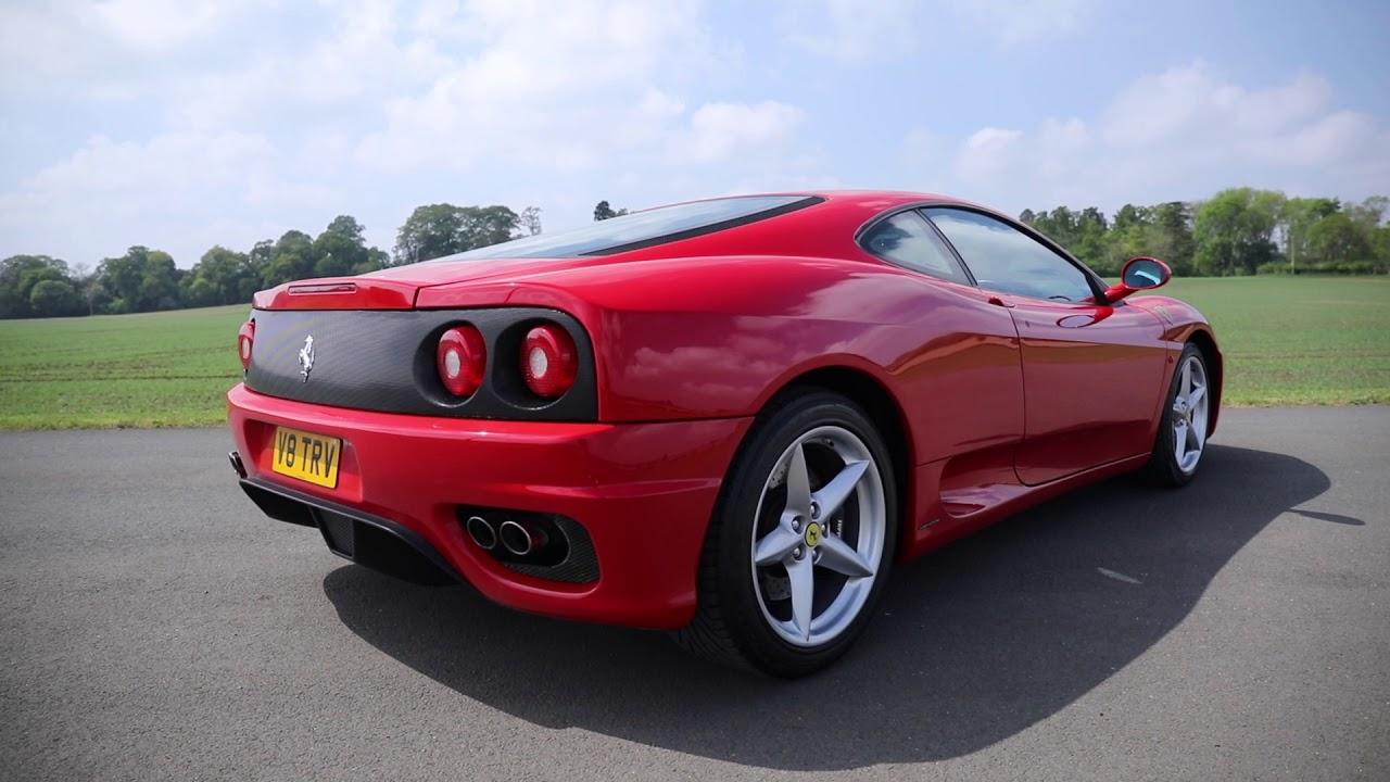 Lot No 130 1999 Ferrari 360 Modena F1 Youtube