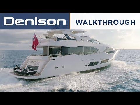 HIDEOUT: Sunseeker 95 Motoryacht [Walkthrough]