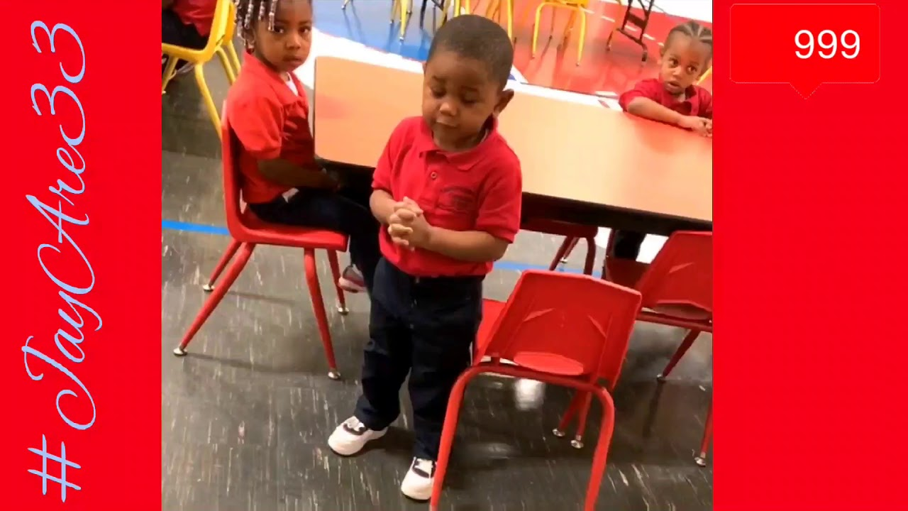 Adorable 3yr boy leads his classmates in saying grace before eating lunch January 22, 2020
