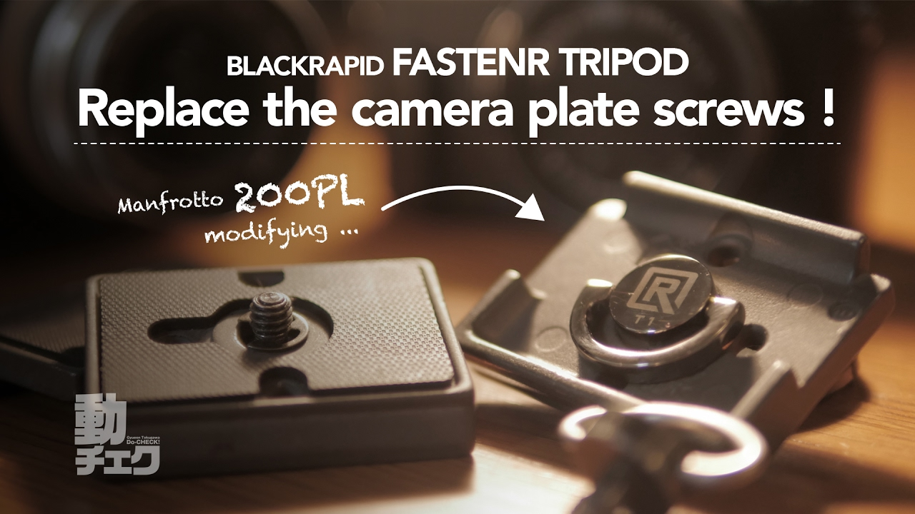 Black BlackRapid RFH-1E0 Fastenr Tripod FR-T1