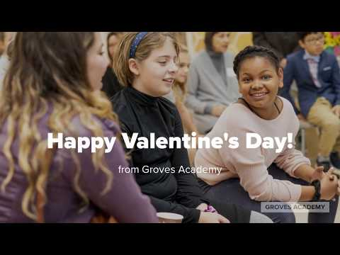 We HEART you! . . .from Groves Academy 2020