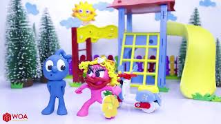 ❋ Animals ZOO Toys for Kids and Learning Name Sounds Tiger, Zebra, Jaguar with Animal Toys