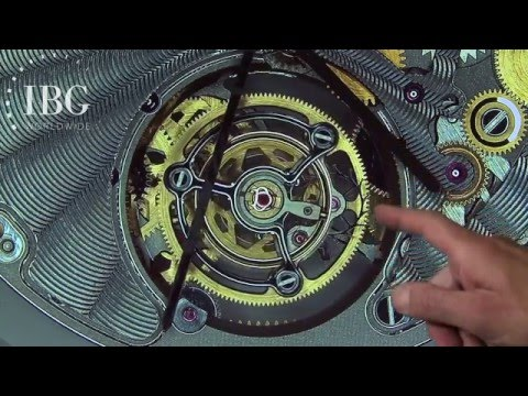 Summary: BLANCPAIN - the difference between a tourbillon and a carrousel explained by Jeff Kingston