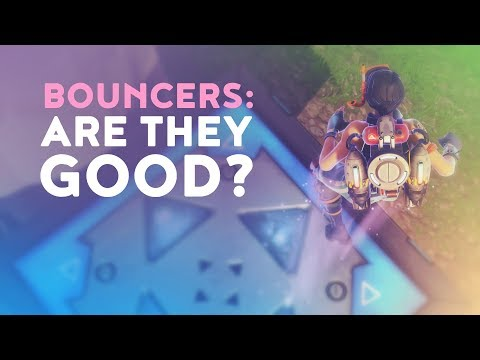 NEW BOUNCER TRAPS - ARE THEY GOOD? (Fortnite Battle Royale)