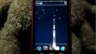 Tokyo Skytree Live Wallpaper