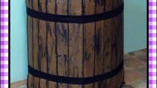Como hacer un barril