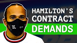 Is Lewis Hamilton Set To Sign His Biggest Contract Ever? - [ Rumour Round-Up ]
