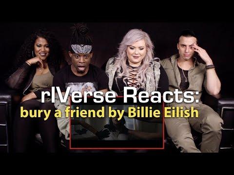 rIVerse Reacts: bury a friend by Billie Eilish - M/V Reaction