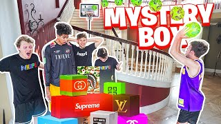 Last To Miss Trick Shot Wins Mystery BOX! With 2HYPE
