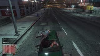 Grand Theft Auto V Breaking A Windshield With My Body ?