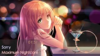 nightcore sorry 1 hour