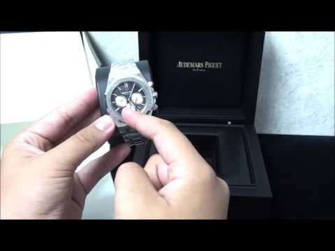 The Audemars Piguet Royal Oak Chronograph Unboxing | WatchGuyNYC Reviews 26331ST.OO.02.