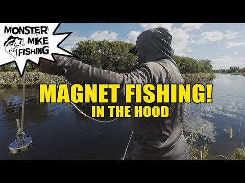 Magnet Fishing For Lost Treasure | Monster Mike