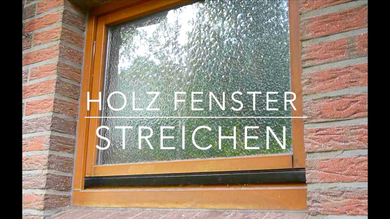 holz fenster streichen anleitung youtube. Black Bedroom Furniture Sets. Home Design Ideas