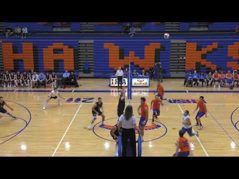 Hoffman Estates vs Barrington Boys Volleyball - April 2, 2019