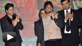 Raju Srivastav's Jokes Makes Shahrukh Khan Rohit Shetty Laugh