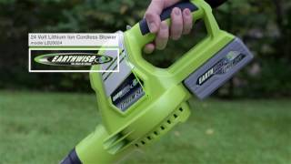 Earthwise 24 Volt Lithium Cordless Blower