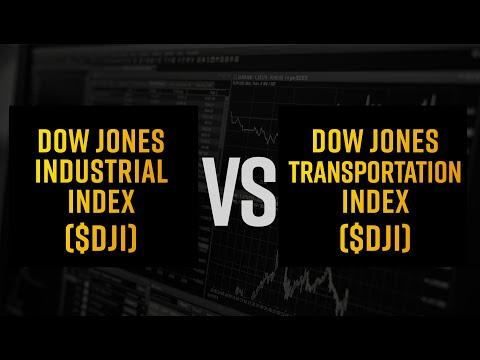 Dow Jones Industrial Index VS Dow Jones Transportation Index (DJI Vs DJT)