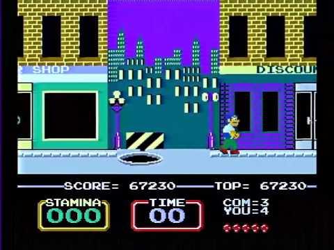 Vs. Urban Champion (1984; Arcade; Nintendo)