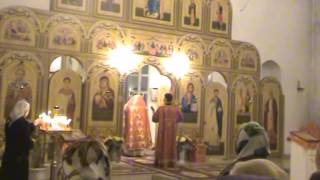 Пасхальная служба в церкви апостолов Петра и Павла. г Красноармейске 2014 04 20(, 2014-04-21T02:33:41.000Z)