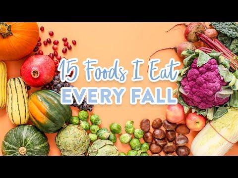My 15 Fall Food FAVOURITES + Easy Recipe Ideas!