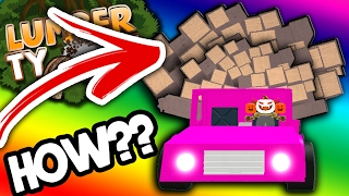 the BEST way to stack WOOD | Lumber Tycoon 2
