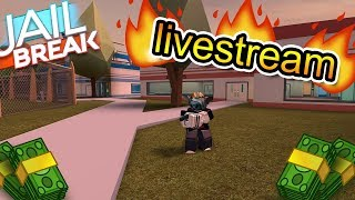 ROBLOX | Jailbreak | Getting a lot of money n stuff! *live*